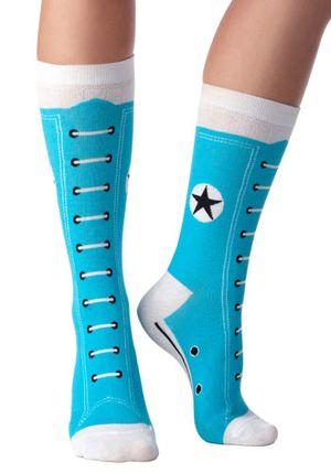 Converse High Top Socks