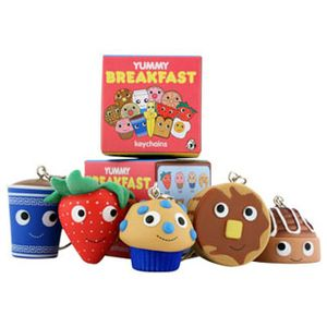 Yummy Breakfast Mini Keychains