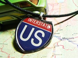 Interstate necklace