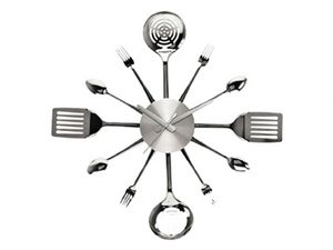 Utensils Clock