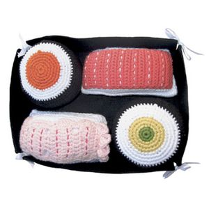 Sushi Rattle Set