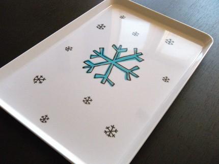 Snowflake tray