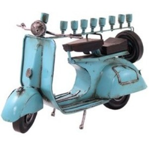 Moped Menorah