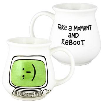 Reboot mug