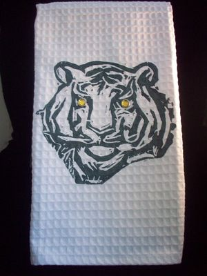 Tiger hand towel