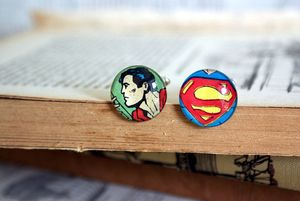 Superman_cufflinnks