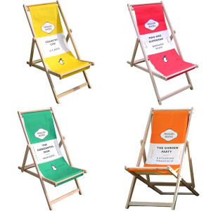 Rare Bird Finds: Penguin Book Deckchair